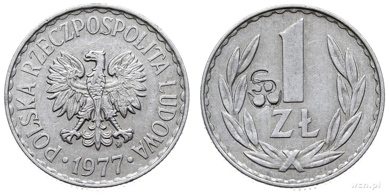 1 zl 1977 сколько стоит монета 1758 года цена