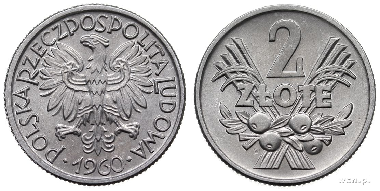 2 zlote 1960 цена 1лат 1924г цена