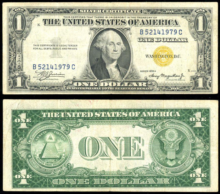dolar amerykański stany zjednoczone