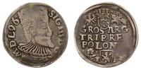 Polska, trojak, 1596