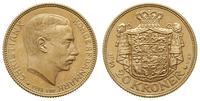 Dania, 20 koron, 1914