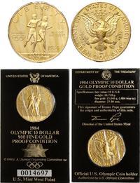 Stany Zjednoczone Ameryki (USA), 10 dolarów, 1984/W
