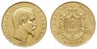 Francja, 50 franków, 1857/A