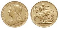 Wielka Brytania, 1 funt, 1900