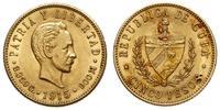 Kuba, 5 peso, 1915