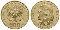 Polska, 500 złotych, 1976
