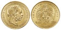 Austria, 4 floreny = 10 franków, 1892