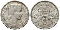 Łotwa, 5 łatów, 1929