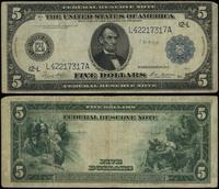 Stany Zjednoczone Ameryki (USA), 5 dolarów, 1914