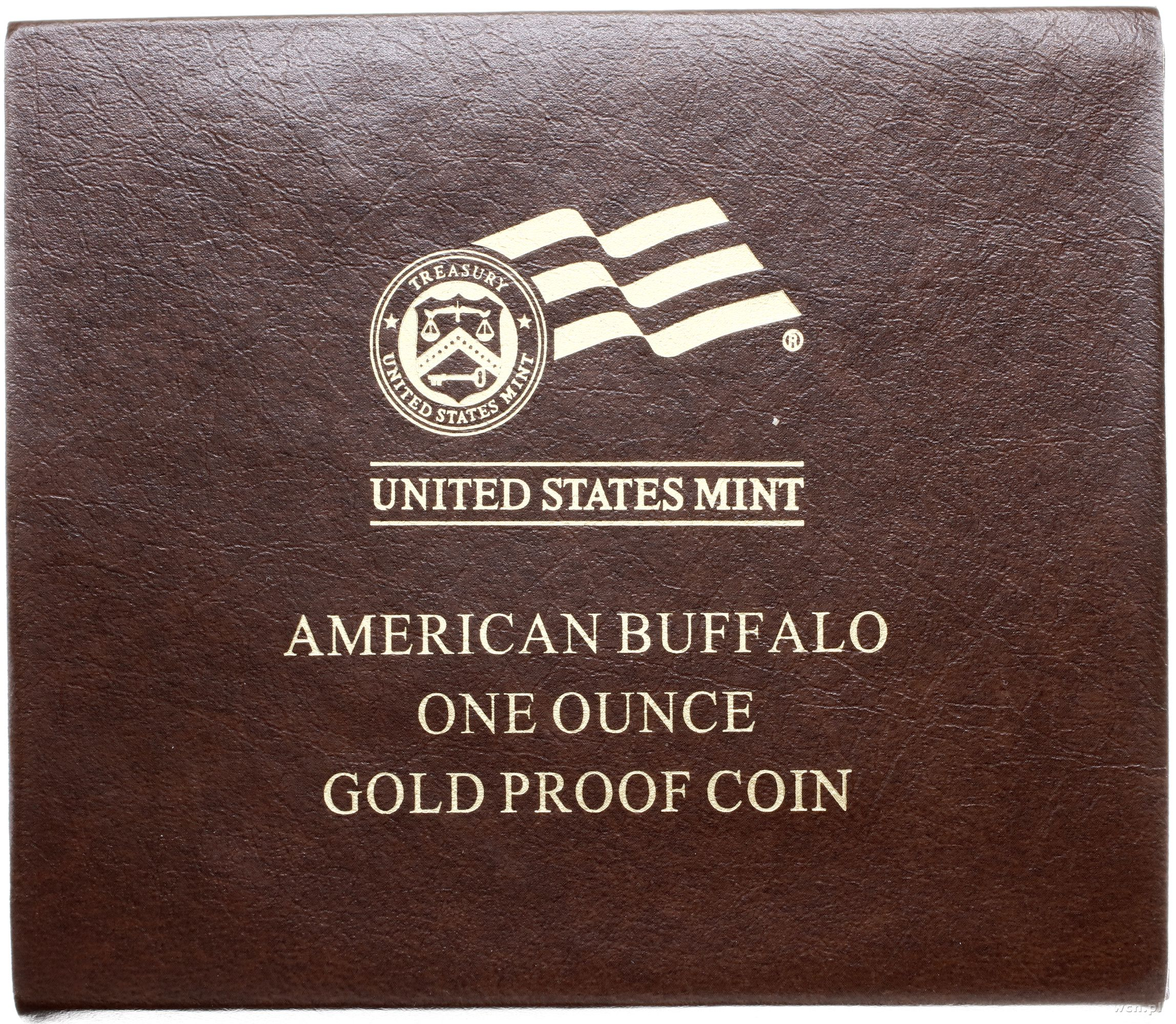 50 dolarów 2010 W, West Point, typ American Buff