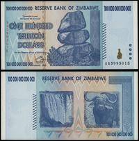 Zimbabwe, 100 bilionów dolarów (one hundred trillion dollars), 2008