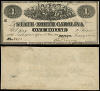 dolar 01.01.1863, North Carolina, minimalna dziu